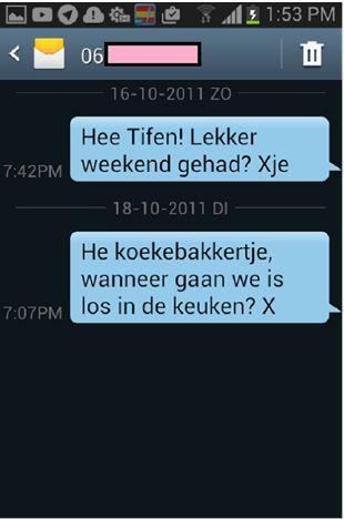 subtiel flirten via sms
