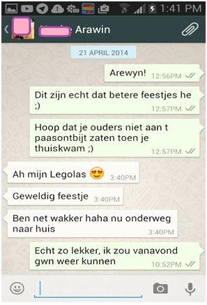 Flirten via whatsapp voorbeelden