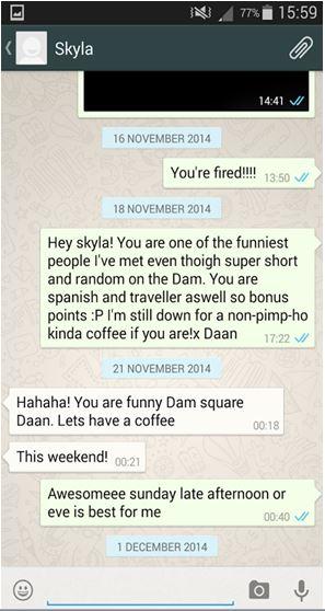Hoe flirten via sms